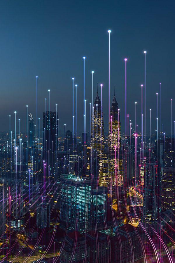 graphic of digital innovation